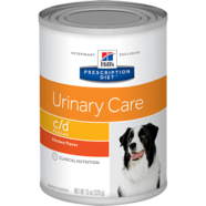 Hills Prescription Canine C/D Cans 370gm - Tray of 12