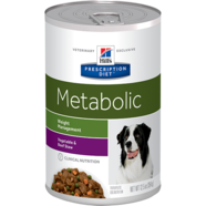 Hill's Prescription Diet Metabolic Canine Vegetable & Beef Stew 350G X 12