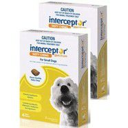 Interceptor Spectrum Small Dog 4-11kg pack of 12