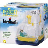 JW Insight Bird Bath - Dome bath to hook on outside of cage door
