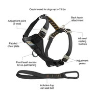 Kurgo Tru-Fit Enhanced Strength Harness Medium