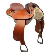 Ord River Bronco Poley Swinging Fender Saddle