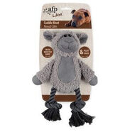 AFP Cuddle Dental Animal Dog Toy with Rope 31 x 23cm