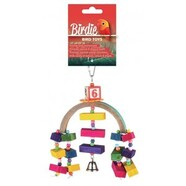 Birdie Rainbow Bridge Toy 20x15cm