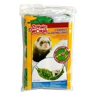 Living World Ferret Sleeping Bag Green 29x44cm