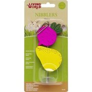 Living World Small Animal Nibblers Beet and Pear on Stick