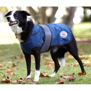 "Thermo Master 840D Nylon Dog Coat Blue 14""/36 *CLEARANCE*"