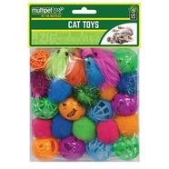 Multipet Cat Toy Value Pack 24 pack