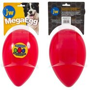 JW Mega Egg Large Red (25.5 x 16cm)