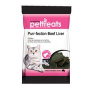 Purr-Fection Beef Liver Cat Treats 60gm