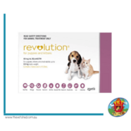 Revolution Mauve 3pk - Pups & Kittens up to 2.6kg (3 ampules)