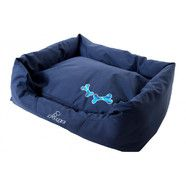 Rogz Spice Pod Dog Bed Navy Zen [Size: Small]