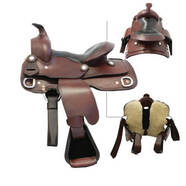 Texas Tack Childs Western Saddle