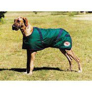 Thermomaster Supreme Dog Coat  Hunter Green/Navy 51cm *CLEARANCE*