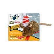 Christmas Holiday Cat Mouse Toy