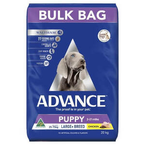 Advance Puppy Plus Large Breed Growth Breeder Bag 20kg