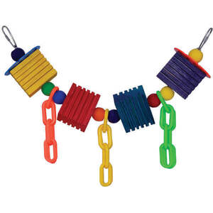 SuperBird Groovy Chain Bird Toy 50.5 x 8.5cm